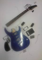 Guitar in bits