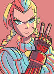 Is Cammy angry or not?