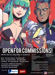 DIGITAL ART COMMISH OPEN! by GniratnaMleirA