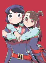 Komi-san's New Friend by GniratnaMleirA