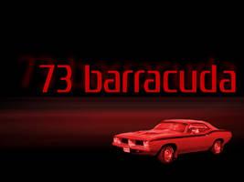 1973 Plymouth Barracuda by redbandana