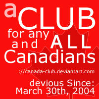 Deviant ID for the Canada Club by redbandana