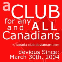 Deviant ID for the Canada Club by redbandana