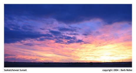 Saskatchewan Sunset by redbandana