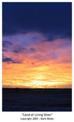 Land of Living Skies by redbandana