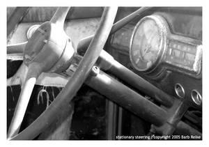 stationary steering