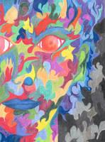 Abstract Woman by redbandana