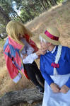 Howl moving castle Howl and Sophie