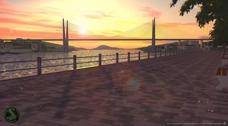 The Zolotoy Bridge Vladivostok