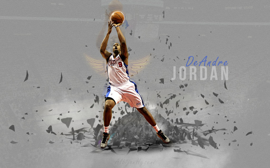 deandre jordan by albionn2 on deviantart