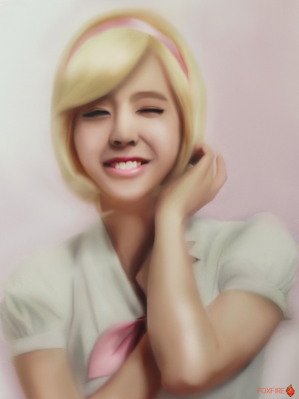 SNSD Sunny Speed Painting World Tour 2013 by Foxfire025