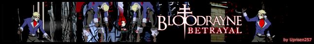 Bloodrayne Betrayal Banner