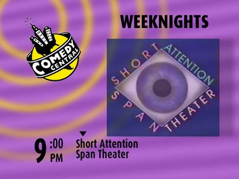 Comedy Central SAST Promo Endboard (1997)