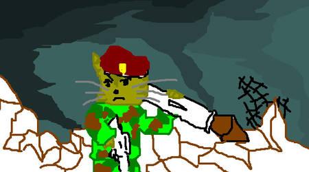 Sgt. Furrball