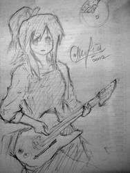Cappuccino w guitar