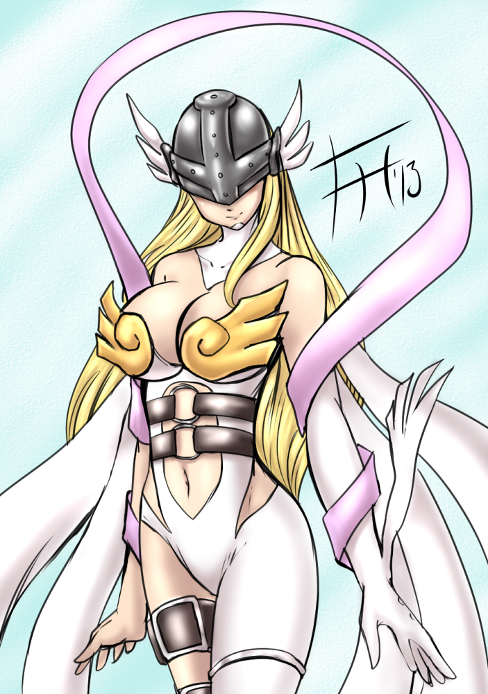 Angewomon - Sketch 37 by Fenril-Huayra