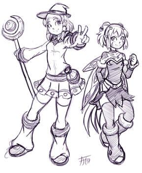 Kyra and Zeranna