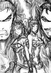 Warriors Orochi 4 Quick Fanart