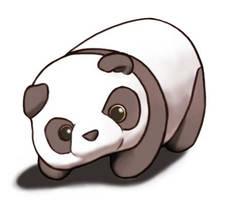 Panda by FloatingWorldArtist