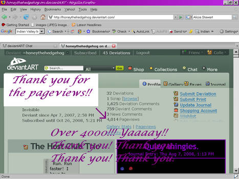 Over 4000 pageviews