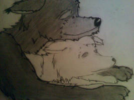 Wolf Doodle