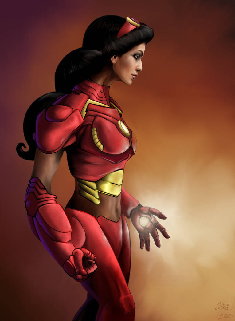 Princess Avengers: IRONMAN by Christopher-Stoll