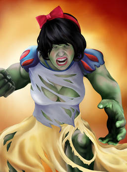 Princess Avengers: HULK