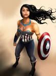 Princess Avengers: CAPTAIN AMERICA