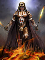 Primal Vader by Christopher-Stoll