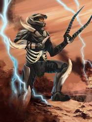 Primal Master-Chief by Christopher-Stoll