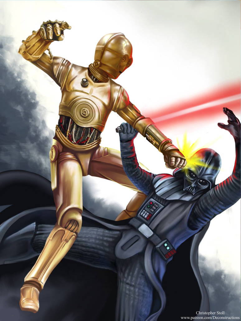 Unexpected Heroes- C-3PO by Christopher-Stoll