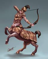 Centaur Centurian by Christopher-Stoll