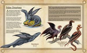 False Dragons- A Natural History of the Fantastic