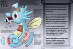 Horsea Anatomy- Pokedex Entry