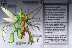 Scyther Anatomy- Pokedex Entry