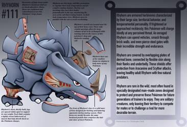 Rhyhorn Anatomy- Pokedex Entry