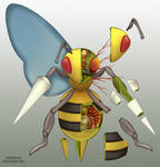 Beedrill Anatomy