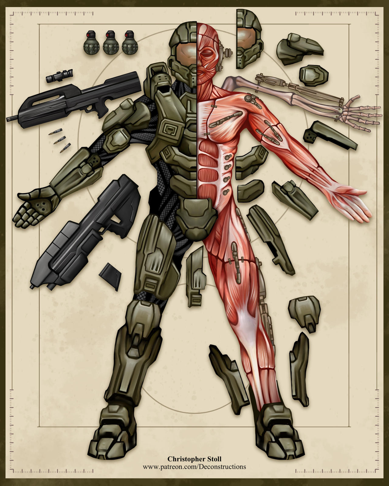 Master Chief Deconstructed