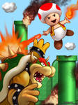 Unexpected Heroes- Toad