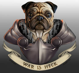 Doggo of War- Pug