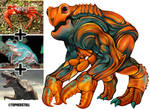 Creature Design Combo- Crab, Frog, T-Rex