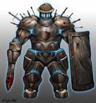 Battered Guardian- Fantasy Creature Design