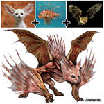 Creature Design Combo- Fennec Fox, Lionfish, Bat