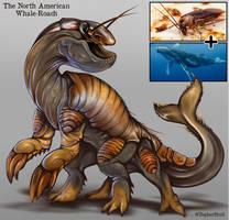 Creature Design Combo- Cockroach, Whale