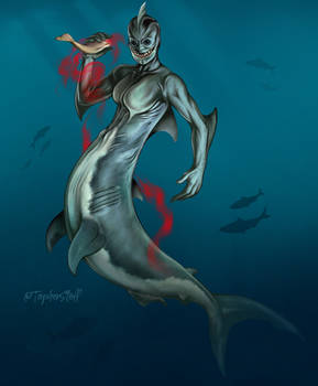 Shark Merfolk- Concept Art