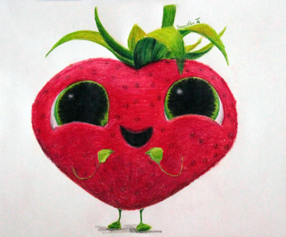 Strawberry From Cloudy With A Chance Of Meatballs By Ivanitko