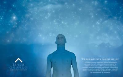 Wallpaper CII. El que observa las estrellas by EspejosCircunflejos