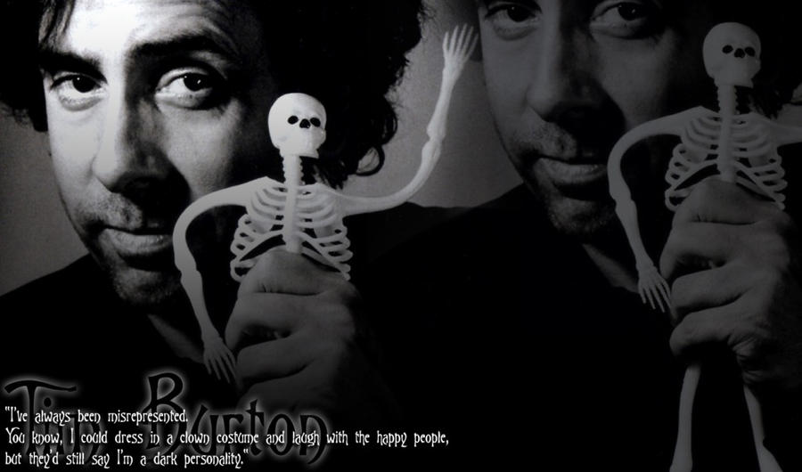 Tim Burton Wallpaper. by HouseOfWolfos on DeviantArt