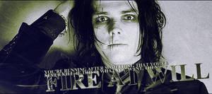 Gerard Way 'Revenge' Era Sig.