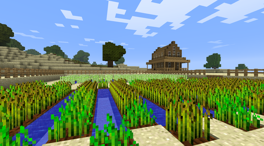 My square world! - Maps - Mapping and Modding: Java ...  My square world...